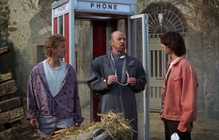 Image result for bill and ted excellent adventure